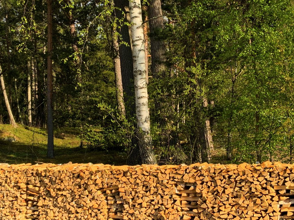 Vedstapel- Wood pile