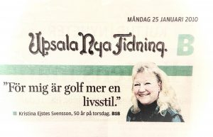 Link to news paper article in Swedish